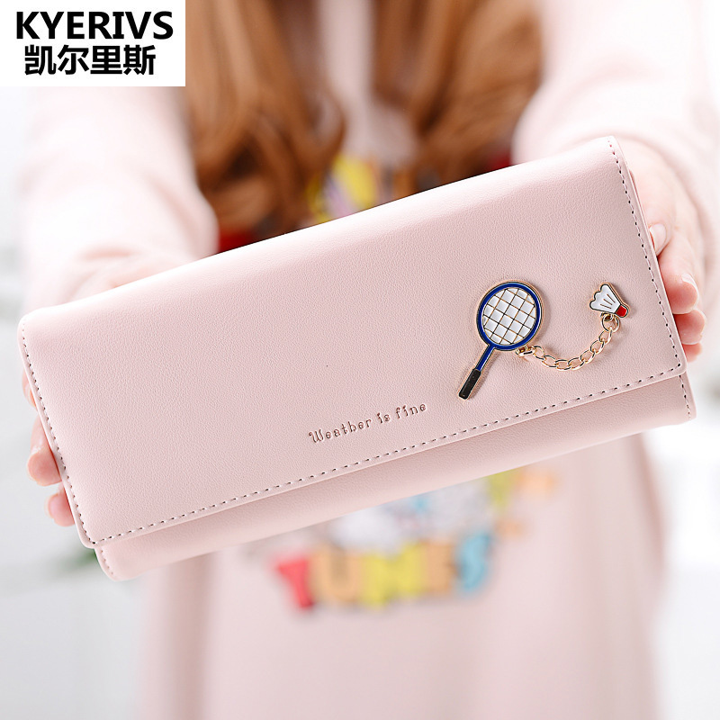 Women Wallets High Quality Latest Lovely Pu Leather Wallet Women Fashion Long Clutch Purse Money Bag Card Holder Coin Purse youyou mouse high quality women long wallets fashion pu leather money wallet 6 colors lady clutch coin purse card