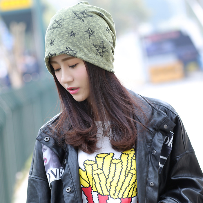 2018 Beanie The Cotton Adult New Spring And Summer A Couple Of Thin Cap Sleeve Tide Head Pile Hood Bonnet Direct Confinement