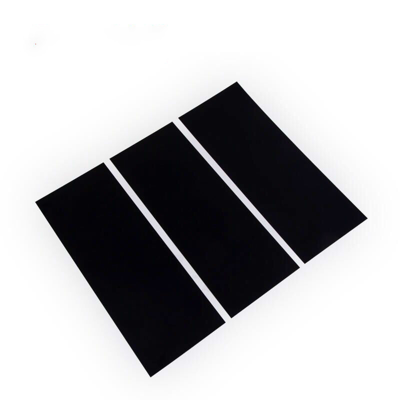 Black scrub test plastic panel 432*165*0.25 mm special for Wet Abrasion Scrub Tester  polyolefin plastic-in Instrument Parts & Accessories from Tools    1