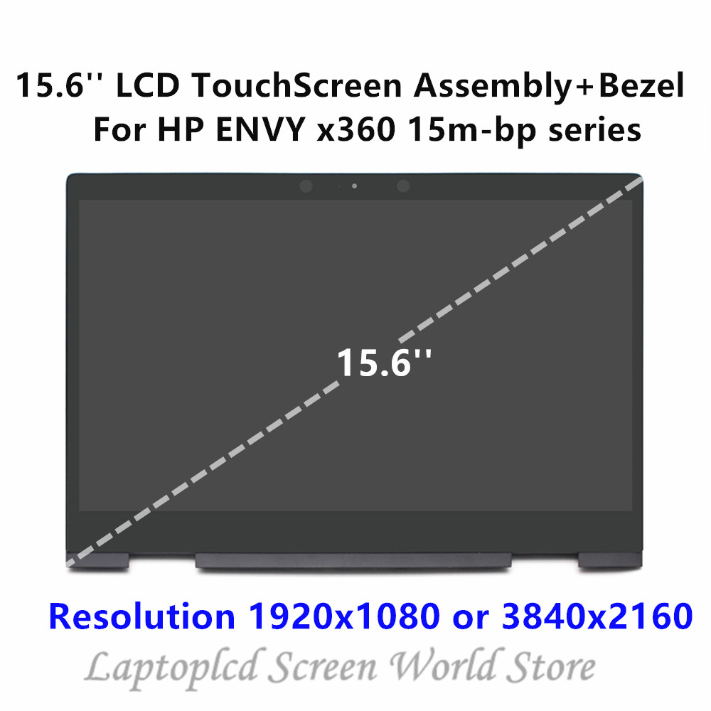 FHD LED LCD Touchscreen Digitizer Display Panel for HP Envy X360 15m-bp012dx