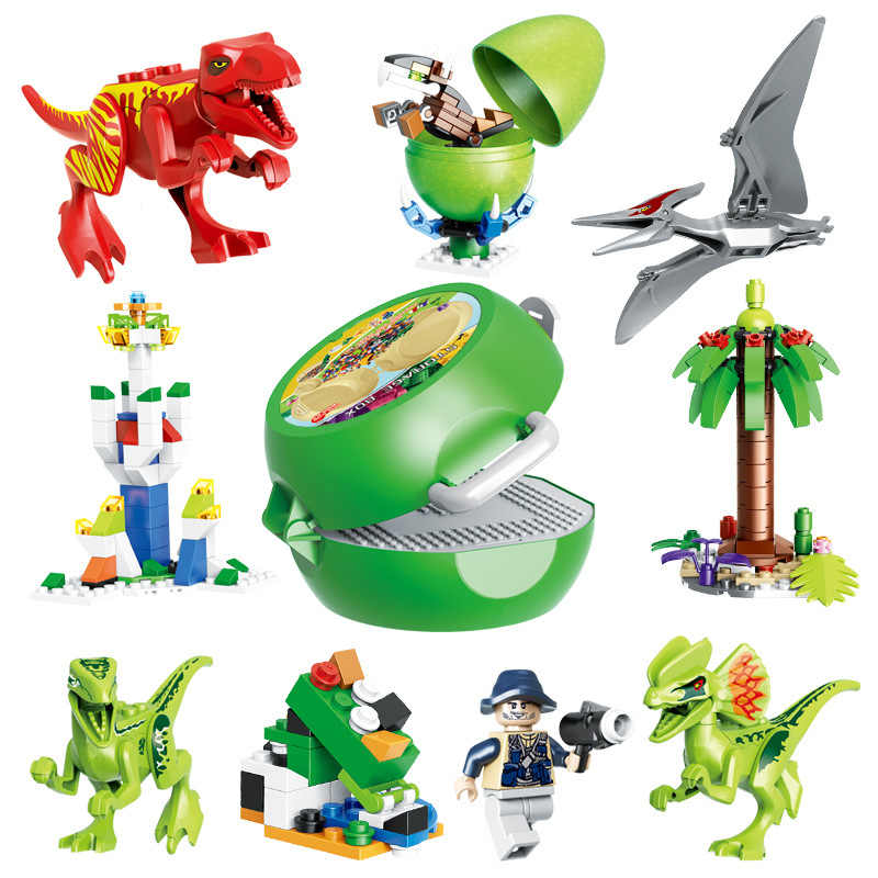 New Jurassic Sale Dinosaurs Worlds Park Tyrannosaurs Rex Figures Bricks Toys Building Blocks Compatible With Lego Christmas Gift