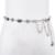 Hongmioo 2017 mais novo designer de moda ouro metálico cinto cinto para calças de brim Cinto de Cadeia De cintura Cintos De Metal de Ouro Para As Mulheres Tamanho 105