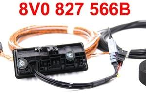 Image 2 - Pour Audi A3 8V Facelift MIB unité 8V0 827 566 B 5Q0980556B caméra de recul poignée de coffre avec ligne de guidage haute
