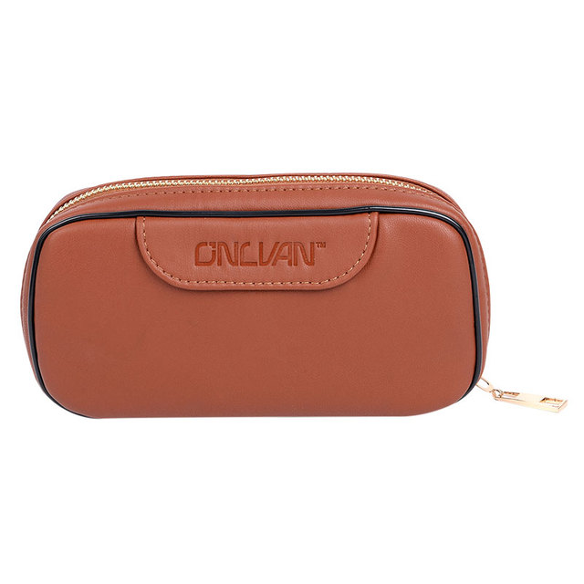 PU Leather Coin Pocket Handbags Business Style Bags for Cigar Organizer Cion Pouch Women Bags Support Wholesale Retail