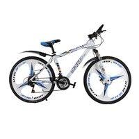 Новое поступление горный белый bike26'' 21 скорость 3 нож интегрированы велосипед с переменной скоростью Велосипеды двойной вибраций тормоза