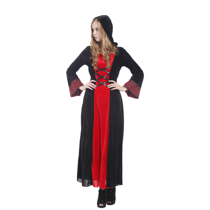 Adult Gothic Mistress Victorian Vampiress Cosplay Costume for Women Fantasia Halloween Carnival Mardi Gras Party Dress in Holidays Costumes from Novelty Special Use