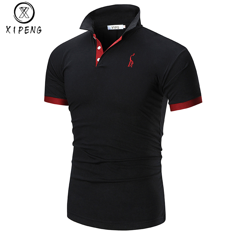 Polo Shirt Men 2019 Casual Summer Style Short Sleeve Polo Masculino Mens Solid Shirts Polo Plus Size Brand Shirts Polos