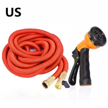 Garden Hose 75FT Expandable Water Hoses with Best Abrasion Resistance and Tension & 5000D Stronger fiber Triple Layer Latex Expa