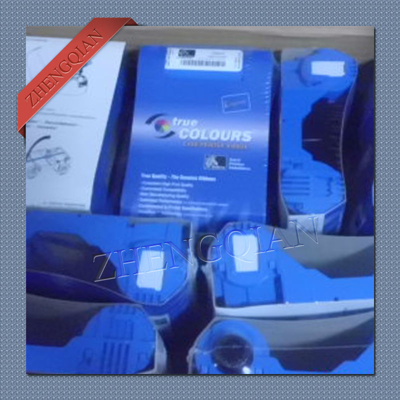 ФОТО Genuine Zebra 800015-901 black printer ribbon for p120i plastic id card printer update to 800033-801 black ribbon
