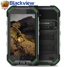 Origine Blackview BV6000S Mobile Téléphone Android 6.0 MTK6737 Quad Core 4G FDD LTE 2 GB + 16 GB 13.0MP IP68 Étanche Smartphone