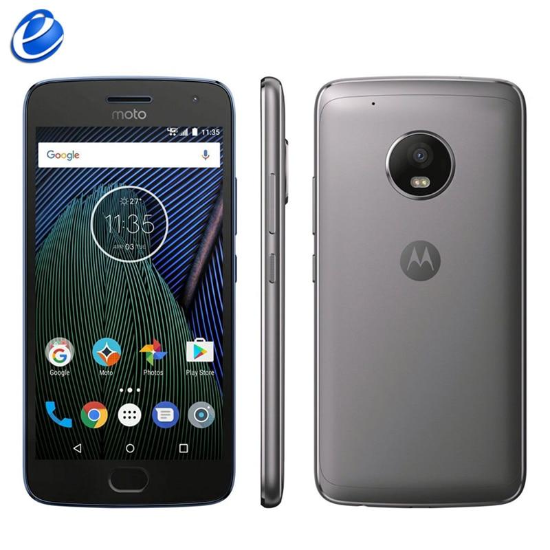 Unlocked Original Motorola MOTO G5 Plus XT1687 single sim Octa Core Android 4G LTE Cell Phone