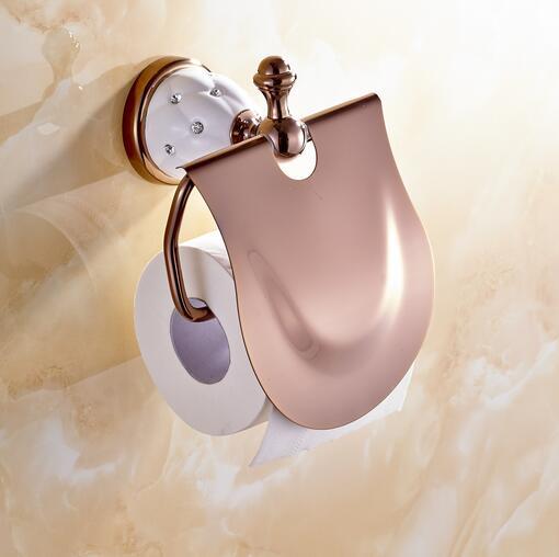 red rose bathroom paper towel holder toilet paper holder toilet paper box gold pattern tissue box