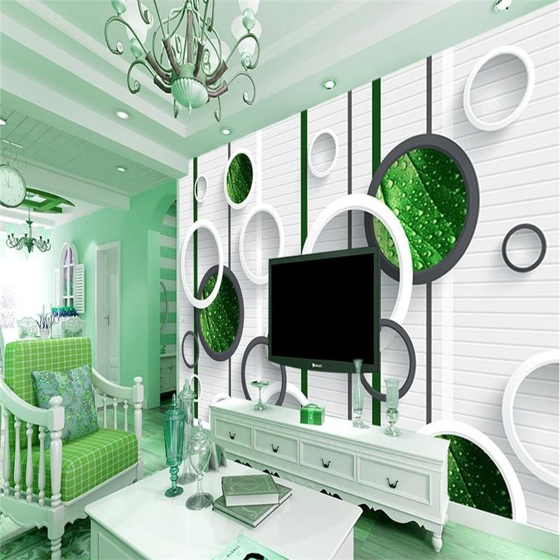 Beibehang Foto Wallpaper Lukisan Latar Belakang Kertas Dinding Ruang