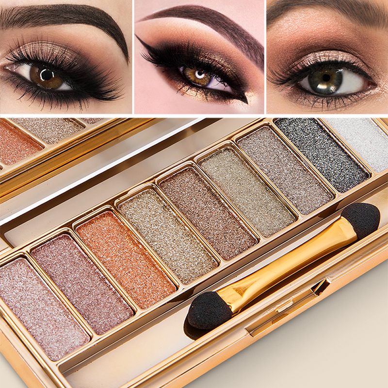 New Nude Eyeshadow Palette The 18 Colors Matte Shimmer