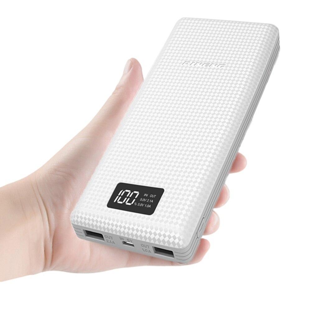 imágenes para Original IBTION 12000 mAh Cargador de Teléfono Portátil Cargador de Batería de Doble Salida USB Power Bank para Teléfonos Inteligentes