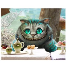 New Diamond Paintings Cats 5D Cross Stitch Decor Rhinestone Square Full Mosaic Home Embroidery Animals