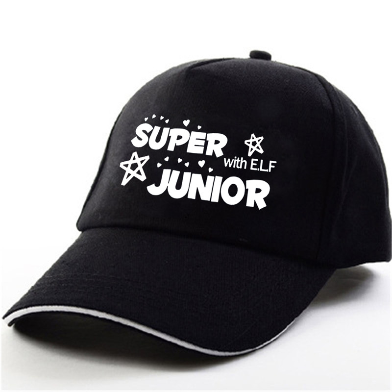 065578b58 US $4.99 25% OFF|YOUPOP KPOP Super Junior SJ/SuJu/SuJr E.L.F Album DEVIL  HeeChul Black Baseball Cap Hip hop Cap Men Women Hats-in Baseball Caps from  ...