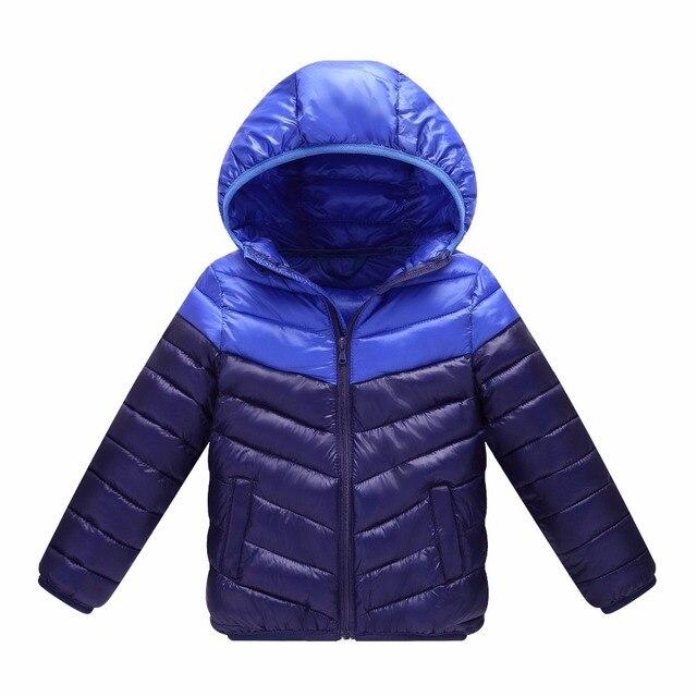 e6420d4f2 2018 winter Boys Girls Coats Jacket Children Fashion Sports ...