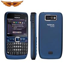 Оригинальные разблокированные NOKIA E63 сотовые телефоны 3G WIFI Bluetooth mp3 плеер 2MP камера отремонтированный телефон один год гарантии