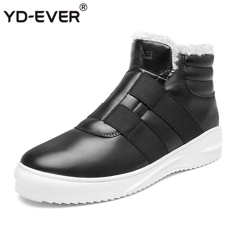 Boots Botas Para Boots 2019 Casual black Andando 788 Desenhista Shoes De Quente Neve Fur Calçado Boots Slip Sapatilhas Inverno Qualidade Adulto Ankle On brown Homens Blue Do AFnA8Sq