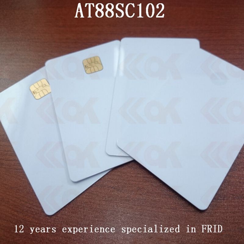 10pcs/lot sample card pvc blank IC card цена