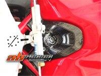 Ducati 용 키 점화 가드 커버 848 1098 1198 전체 탄소 섬유 100% 능 직물|전체 정형 키트|자동차 및 오토바이 -