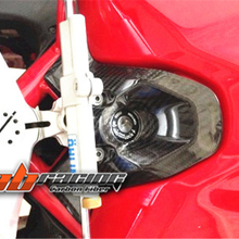 Key  Ignition Guard Cover  For Ducati 848 1098 1198  Full Carbon Fiber 100%  Twill