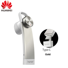 Huawei Ehre AM07 Kopfhörer Pfeife Form Bluetooth 4,1 Wireless Stereo Musik Headset Hände freies Kopfhörer Für Taube 10 P20 pro