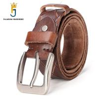 FAJARINA New Design Unisex Retro Style Cow Skin Belt 3 8cm Wide Top Quality Straped 100