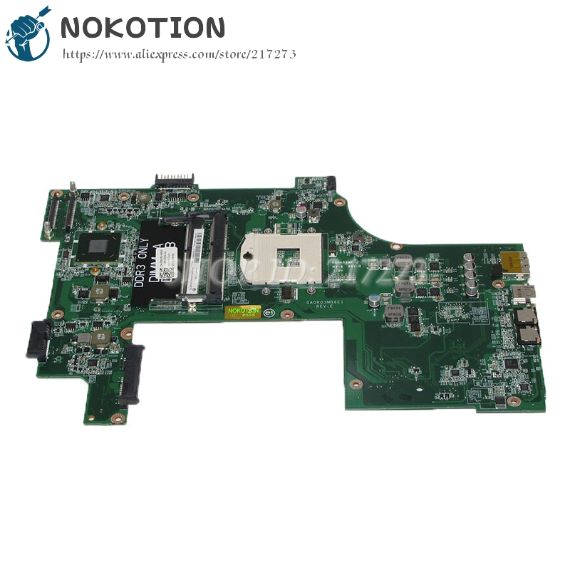 цена NOKOTION DA0R03MB6E1 CN-089X88 089X88 89X88 Laptop Motherboard For dell Vostro 3750 Main Board HM67 DDR3