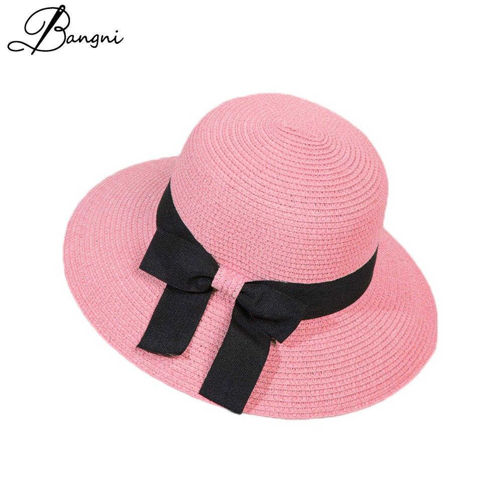 Chapeau à large bord style Panama pour l ...