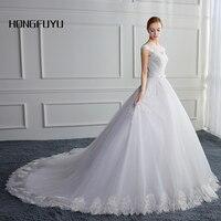 Nowa Suknia Ślubna Bandaż Tube Biały Suknie Ślubne Cap Rękaw Długie Suknie Ślubne Wycięciem Linia Vestido De Noiva