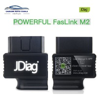 JDiag FasLink M2 Code Reader Function Easy diagnostic Bluetooth V4.0 OBD2 OBD II Adapter Automotive Scanner faslink m2 PK MS509