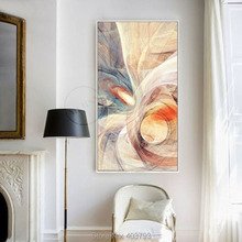 NEW Modern abstract hand-painted oil painting On Canvas Concise murals frameless paintings unframed art home decor