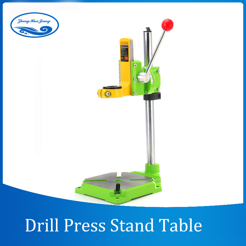 Electric power Drill Press Stand Table Collet Table 35&43mm 0-90 degrees Drill Workbench Repair Tool Clamp for Drilling цена