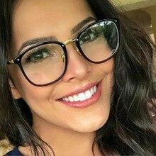 Women Designer Optical Eyeglasses Prescription Acetate Rim Spectacles for Glasses Frame Fashion Styles 97309 Eyewear