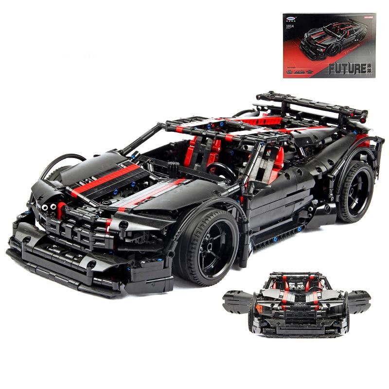 Jeu de blocs de modèle de voiture de sport de ville, jouets pour enfants en briques, cadeaux pour enfants