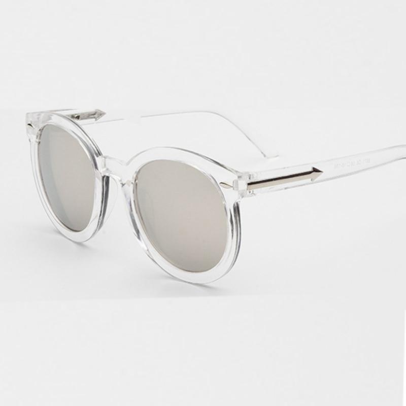 Shop1973118 Store -100 to -400 Myopia prescription sunglasses women men round sun glasses silver mirror eyewear sunglasses for women men