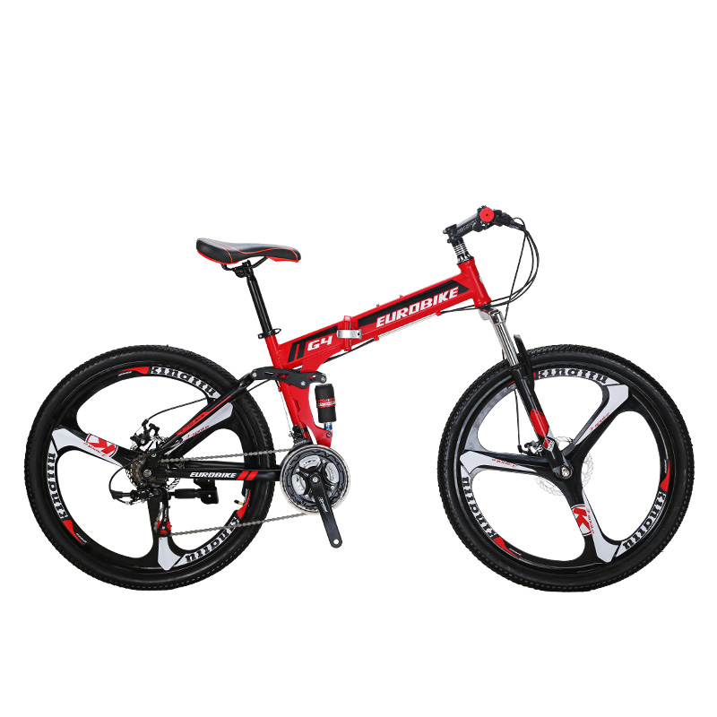 EUROBIKE 26 INCH 21 SPEED Folding Bicycle SUSPENSION  WITH SUSPENSION FORK Cycle FOLDING BIKE