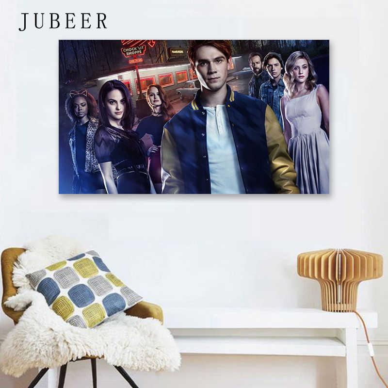 Riverdale Movie Poster Riverdale Original TV Series Silk Wall Art Prints for Bedroom Tableau Decoration Murale Salon Tableau Pop