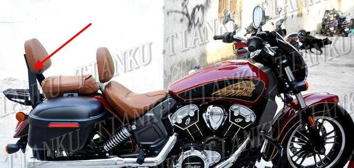motorcycle backrest sissy bar luggage