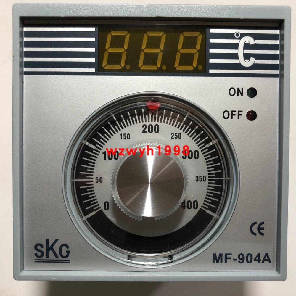 Тайвань SKG MF 904A ручка цифровой контроллер температуры дисплея MF 904A температурный контроллер для печи