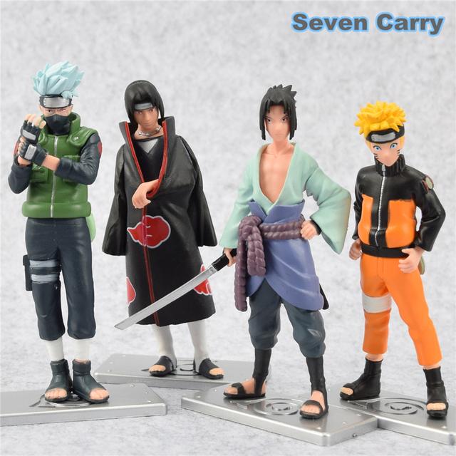 Naruto Figures Set (4 Pcs)