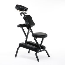 New KY-BJ001 Portable Multiple Colors Massage Chair High-quality Scraping Chair Beauty Bed Adjustable Folding Chair 46*56*120cm(China)
