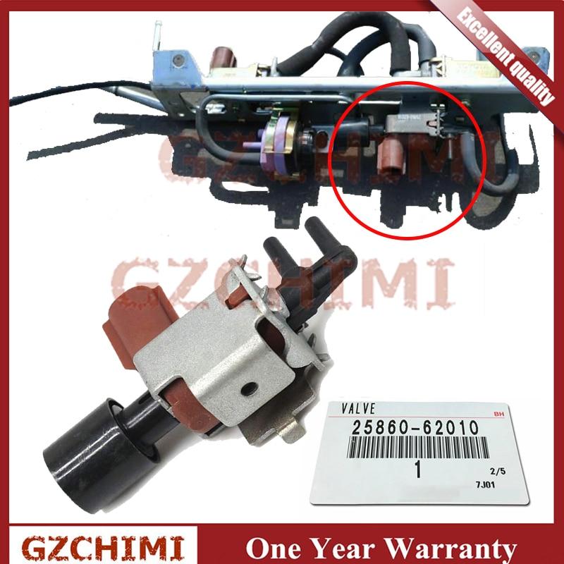 25860-62010 2586062010 EGR Solenoid Valve Assy Vacuum Switching For Toyota Avalon Camry Highlander Lexus ES300 ES330 RX330 RX350