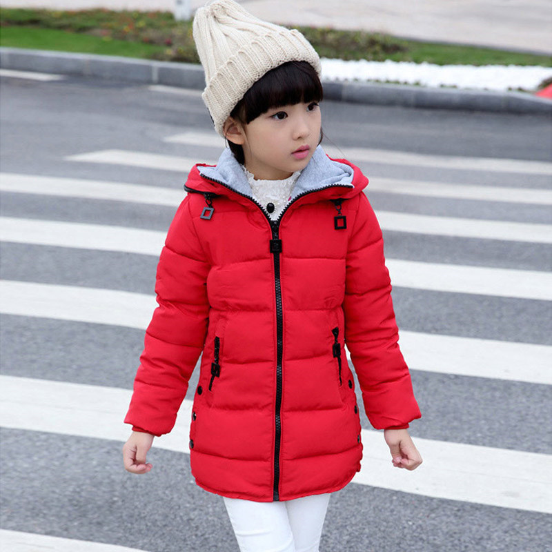 Детская куртка для девочек Весенние жакеты для зимняя куртка для девочек модная детская одежда детское пальто с капюшоном утепленная куртк...