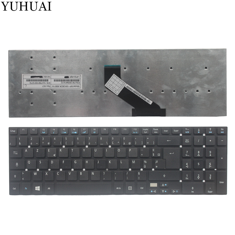 NEW French/FR laptop Keyboard for <font><b>Acer</b></font> Aspire E1-570 V3-772 V3-531 V3-531G V5-561 V5-561G E1-570G V3-7710 V3-7710G V3-<font><b>772G</b></font> image