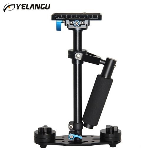 100% Original YELANGU S40L 0.4M Steadicam Handheld Camera Stabilizer Steadycam Minicam Steady Cam For DSLR Camcorder DV Camera