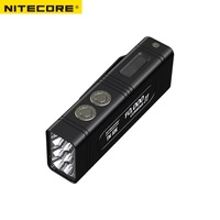 2018 nitecore 작은 괴물 tm10k 10000 루멘 6 x 크리 어 xhp35 hd led 충전식 hight 빛 손전등 내장 4800 mah 배터리