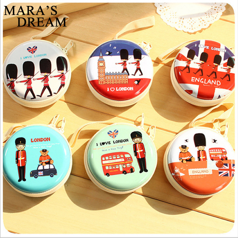 Mara's Dream 2017 Cartoon Coin Purse Key Bag Children Wallet Women Headphones Box Kid Change Purse Ladies Coin Wallet Pouch